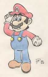 Mario by Drorito