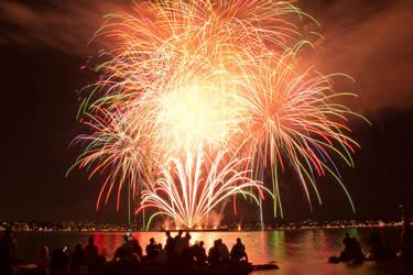 Fireworks Celebration of Light by Tazmaa