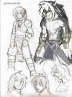 Character from Alpha Luna by alfaluna