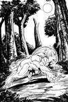 Lycanthrope Club Book I Teaser 2 Inks by alfaluna