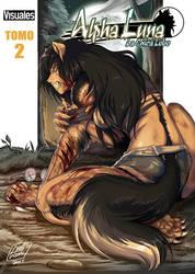 Alpha Luna Volume 2 (TPB) Cover/ Portada by alfaluna