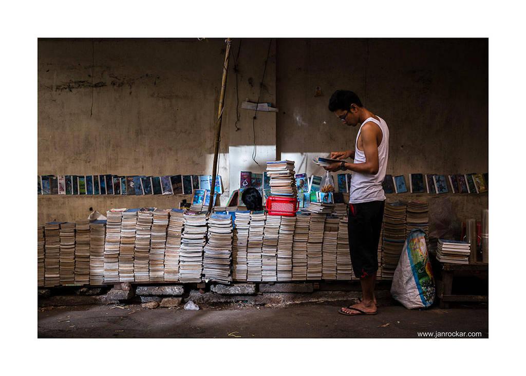 book store by jrockar