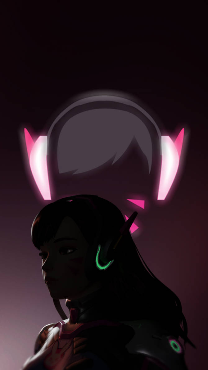 Overwatch D Va Iphone Wallpaper 1920x1080 By Cnamon On Deviantart