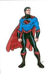 Superman Redesign by Redmasker