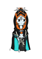 Chibi Midna by Liusy