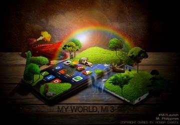 Mi 3 World by technoseven