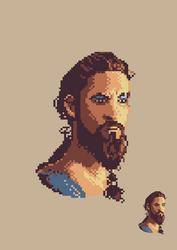 Khal Drogo by JeremyBrown