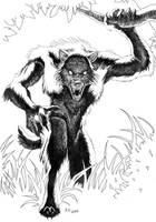 Werewolf by J-C