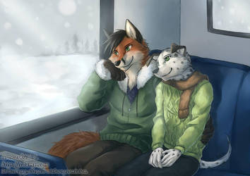 Bus Ride Home by J-C