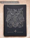4 Celestial Animals Notebook by J-C
