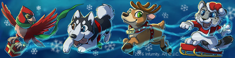 Infurnity Taiwan Furry convention con button by J-C
