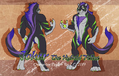 Joker The Hybrid Feline Adoption Offer [close] by J-C
