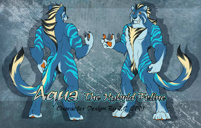 Aqua The Hybrid Feline Adoption Offer [close] by J-C