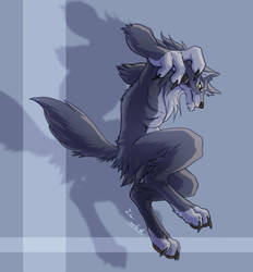 A werewolf by J-C