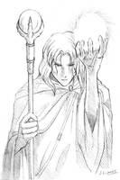 Raistlin from DragonLance by J-C