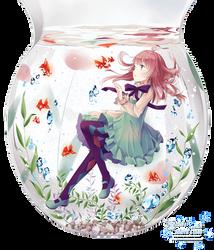 Anime Water Girl render by Kanucchi-aka-Anata