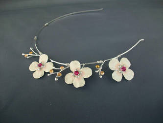 Blossoms Headband Tiara by ElnaraNiall