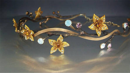 The Brass branch circlet by ElnaraNiall
