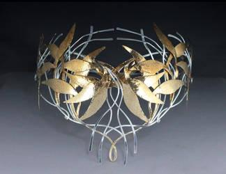 My Galadriel crown replica - pic4 by ElnaraNiall