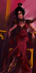 Azula - Fire Goddess by applejaxshii