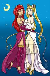 Sailor Moon X Ranma by kittymellow