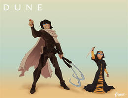 Atreides Siblings by Kristele