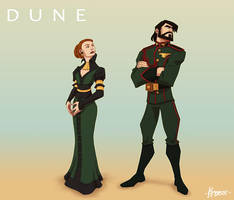 Atreides Leaders by Kristele