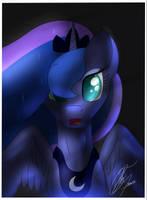 Princess Luna - Poster by NexcoyotlGT