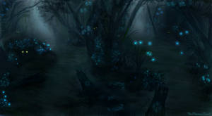 Forest of Eternal Night by JKRoots