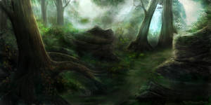 Deep Forest by JKRoots
