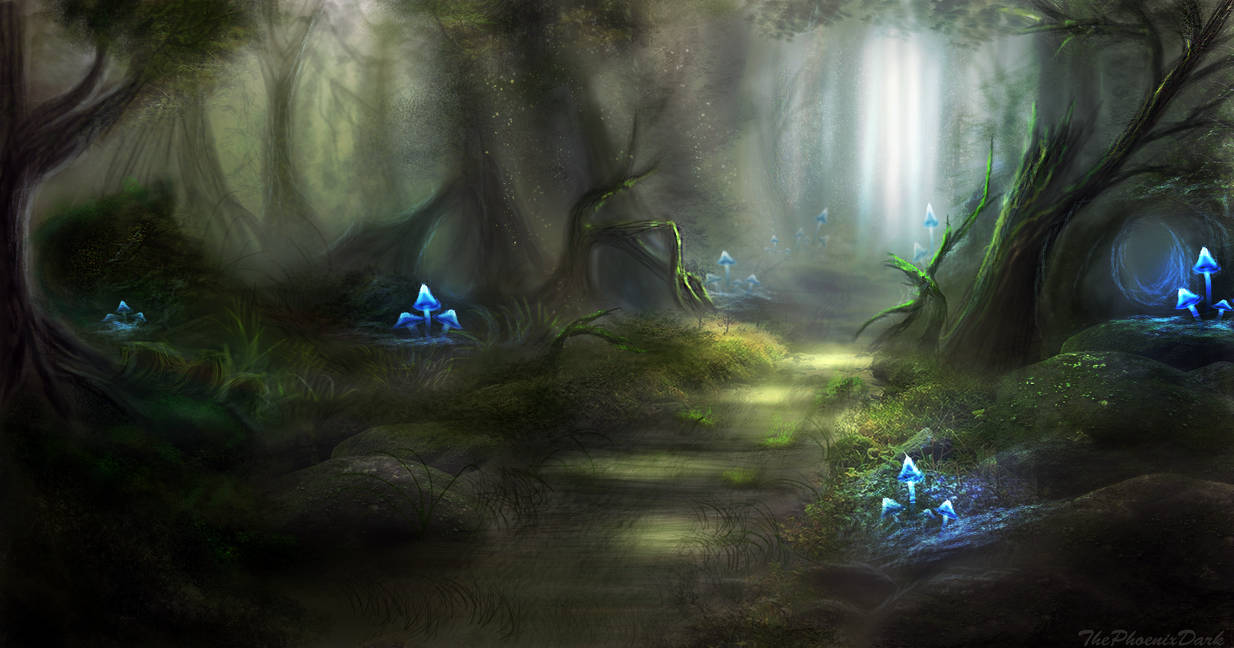 Deep Forest 2 by JKRoots
