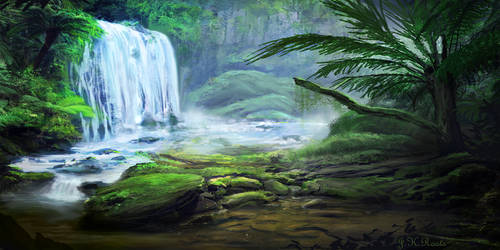 Waterfall by JKRoots