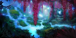 Mystic Creek by JKRoots