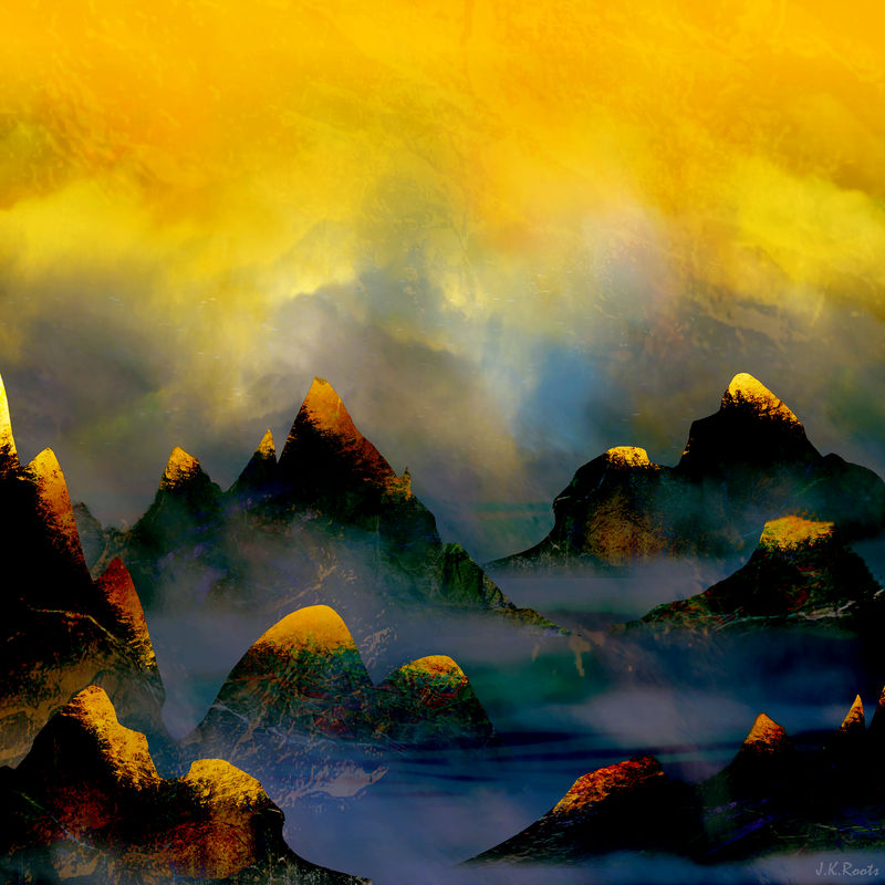 Mountains of Fire by JKRoots