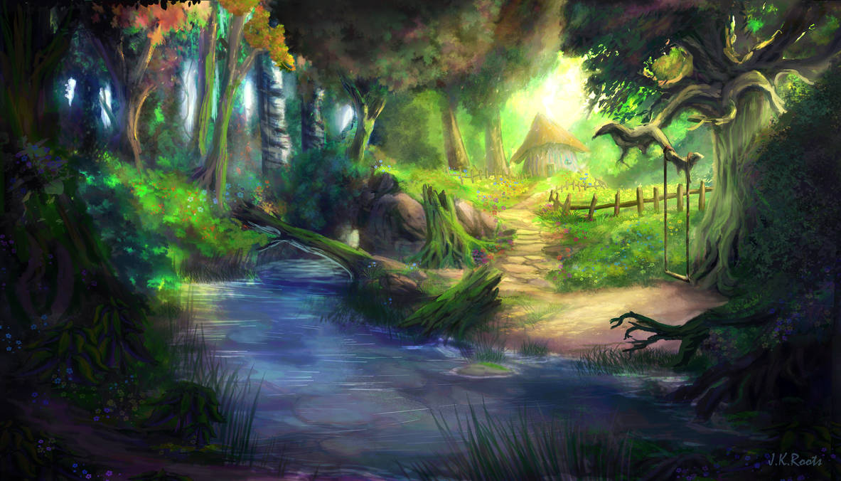 Elven Forest 4 by JKRoots