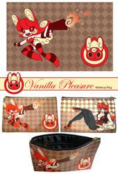 Vanilla Pleasure Makeup Bag by snowkatt101