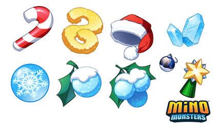 Christmas Assets by snowkatt101