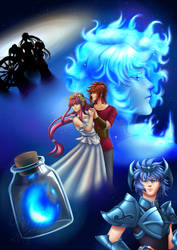 Fanart Saint Seiya Online Evento ONGAME by EarthyD