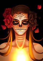 Maffy Caveira Mexicana by EarthyD