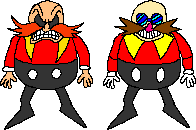 Classic Robotnik and Eggman by LegendySonicFan