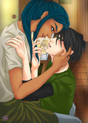Beauty and the Barista by MerelyMeLafia