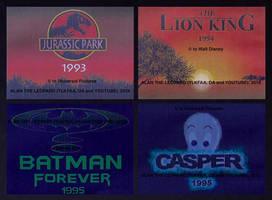 The movies from my teenhood. by Alan-the-leopard