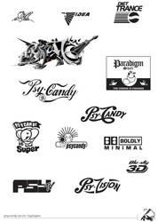 Psycandy-logos by ideacape