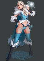 Dungeons and Dragons Elsa by AudreyGreenhalgh