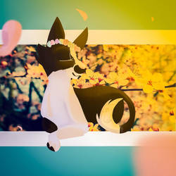 Art trade  by blackrainycat