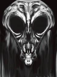 Alien Skull by HauntNav