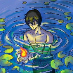 ATLA: Zuko and Water by LiniAriva