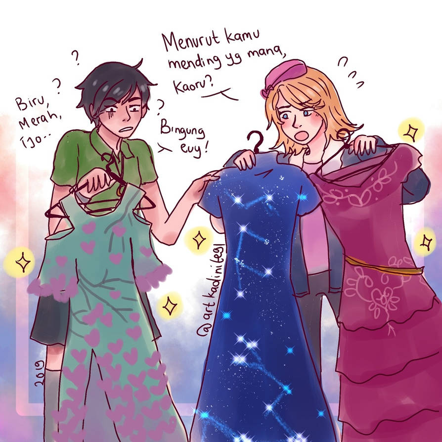 HPHM: Year 4- Let's choose the Dress for the Ball! by LiniAriva