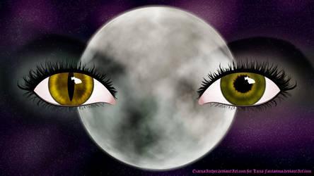 The Phantom Moon by ArcherBlack