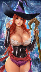 Sorceress - Dragon's Crown by AleBorgo